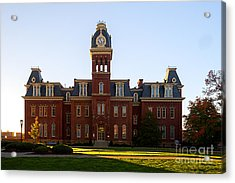 Woodburn Hall Late Afternoon Sun Acrylic Print