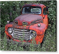 Acrylic Print featuring the photograph Wooded Ford by Christopher McKenzie