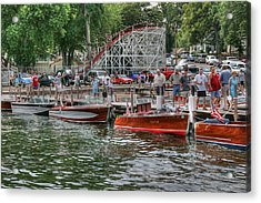 Wooden Boat Show Acrylic Print