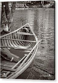 Wooden Canoe Acrylic Print