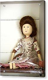 Wooden Doll Acrylic Print by Margie Hurwich