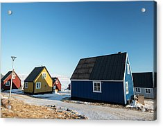 Wooden Houses Acrylic Print