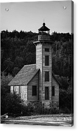 Wooden Lighthouse Acrylic Print by Sebastian Musial