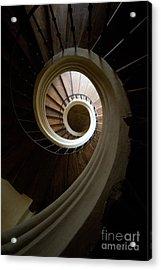 Wooden Spiral Acrylic Print by Jaroslaw Blaminsky