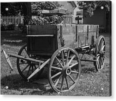Acrylic Print featuring the photograph Wooden Wagon by Robert Hebert
