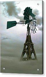 Wooden Windmill Acrylic Print