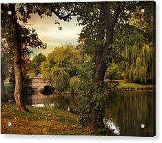 Woodlawn Reflections Acrylic Print by Jessica Jenney