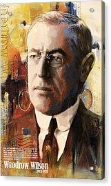Woodrow Wilson Acrylic Print