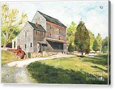 Woodsons Mill Acrylic Print by J Luis Lozano