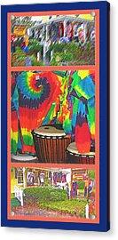 Woodstock Triptych Acrylic Print by Steve Ohlsen