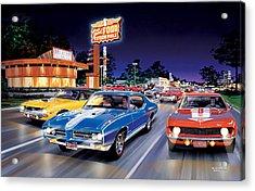 Woodward Avenue Acrylic Print