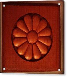 #woodwork #decorative #wood Acrylic Print