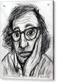 Woody Allen Acrylic Print