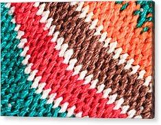 Wool Knitwear Acrylic Print by Tom Gowanlock