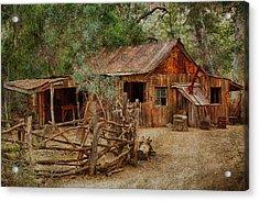 Wool Shed Acrylic Print