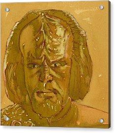 Worf Acrylic Print