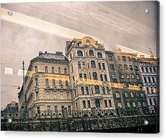 Work 16 Acrylic Print by Anton Kardakov