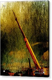 Work Of Art Acrylic Print by Dave Bosse