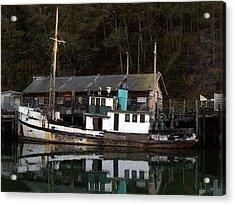 Working Boat Acrylic Print
