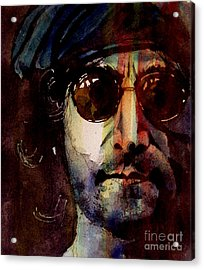 Working Class Hero Acrylic Print by Paul Lovering