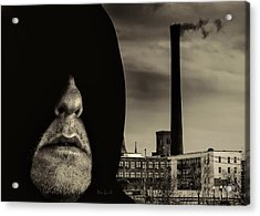 Working Class Man Acrylic Print by Bob Orsillo