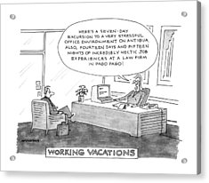 Working Vacations Acrylic Print