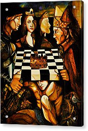 World Chess   Acrylic Print by Dalgis Edelson