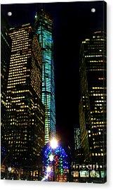 World Financial Center Acrylic Print by Mariola Bitner