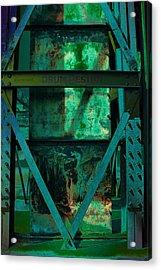 World Heritage Steel Works Germany Acrylic Print by Alexander Drum