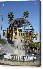 World Of Universal Acrylic Print