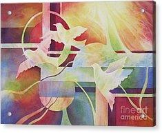 World Peace 2 Acrylic Print by Deborah Ronglien