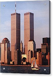 World Trade Center 1999 Acrylic Print