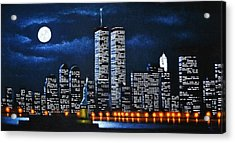 World Trade Center Buildings Acrylic Print