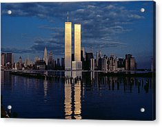 World Trade Center In 1982 Acrylic Print