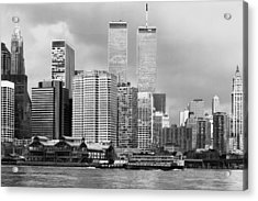 New York City - World Trade Center - Vintage Acrylic Print