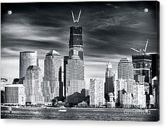 World Trade Center Rebirth Acrylic Print by John Rizzuto