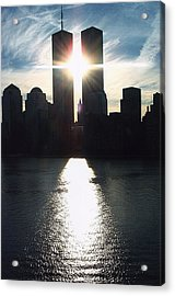 World Trade Center Towers Acrylic Print