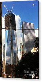 Acrylic Print featuring the photograph World Trade Center Twin Tower by Susan Garren