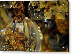 World Upside Down Acrylic Print by Money Sharma
