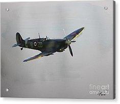 World War 2 Spitfire Acrylic Print
