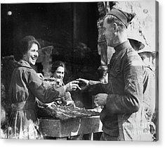 World War I - Infantryman Acrylic Print by Granger
