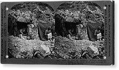 World War I Camp, C1917 Acrylic Print
