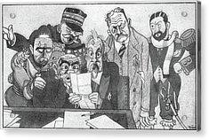 World War I French, 1914 Acrylic Print