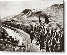 World War I Hike, C1919 Acrylic Print by Granger