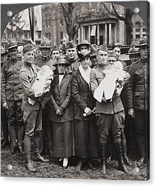 World War I Return, C1918 Acrylic Print by Granger