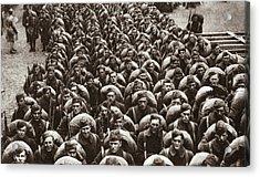 World War I Return Home Acrylic Print by Granger