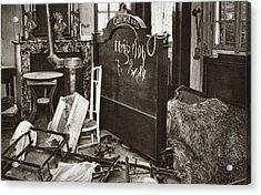 World War I Room Pillaged Acrylic Print