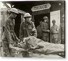 World War I Triage Station Acrylic Print