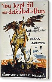 World War I Vd Poster Acrylic Print by Granger