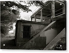 Acrylic Print featuring the photograph World War II Bunker by Alex King